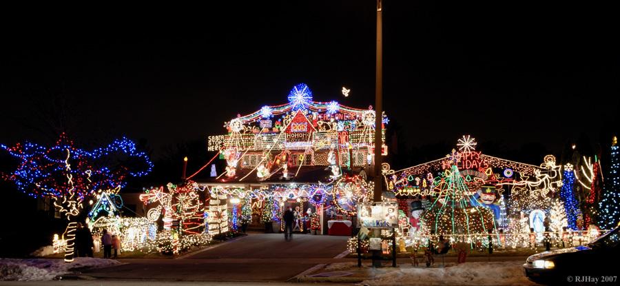 ontario christmas lights