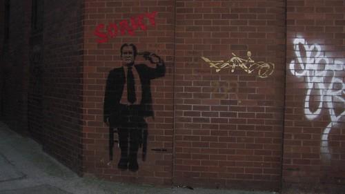 Sorry Stencil