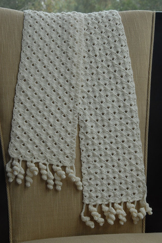 Shell & Spiral Scarf FO 1