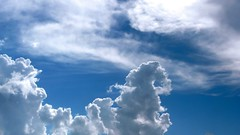 Sky and clouds  (Dave :-) (on and off)) Tags: blue fab sky dave clouds blueribbonwinner mywinners abigfave anawesomeshot theperfectphotographer