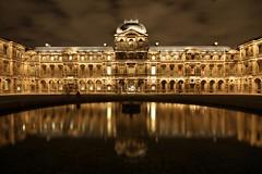 Cour carrée du Louvre *by night*, Paris