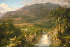 NYC - Metropolitan Museum of Art - Frederic Edwin Church's The Heart of the Andes (wallyg) Tags: nyc newyorkcity ny art museum painting nhl manhattan landmark ues gothamist artmuseum metropolitanmuseum themet uppereastside metropolitanmuseumofart museummile nationalhistoriclandmark nationalregisterofhistoricplaces usnationalhistoriclandmark nrhp fredericedwinchurch hudsonriverschool usnationalregisterofhistoricplaces newyorkcitylandmarkspreservationcommission nyclpc theheartoftheandes heartoftheandes