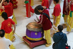 Drummer on the move (vtgard) Tags: new year chinese drummer february 2008 img4389