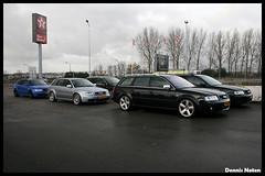Audi RS4 B5 Avant x2 - RS6 Avant (Denniske) Tags: canon eos rebel kiss belgium belgi meeting x dennis audi noten carspotting kallo xti 400d rebelxti eos400d kissx denniske dennisnoten