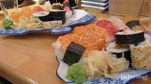 Göteborg - Super Sushi - Sushi 1