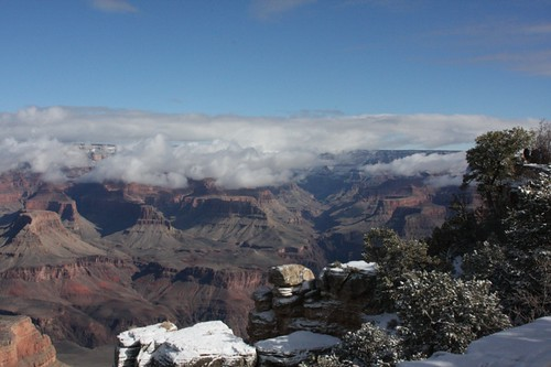 Clouds at Grand Canyon