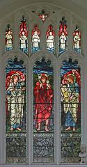 The Good Shepherd, West Wratting (TheRevSteve) Tags: church parish angel stainedglass cambridgeshire anglican standrew burnejones goodshepherd westwratting landranger154 wordpressed