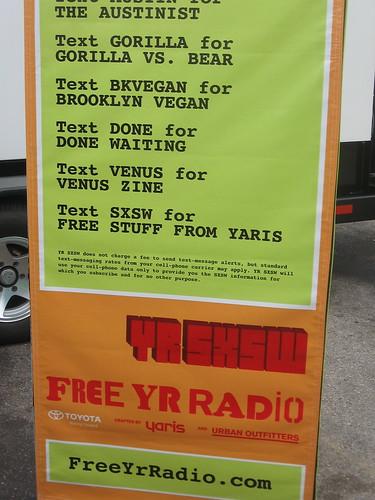 Yaris SMS Banner