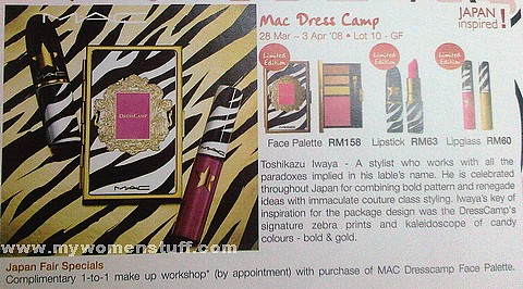 mac dress camp