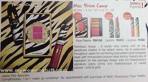 mac dress camp