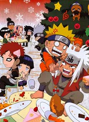 nAruTo- ChrisTmas in koNohA (anime27fan [gone...]) Tags: christmas anime funny comic chibi lee sakura naruto sasuke kakashi episode hinata konoha jiraiya gaara