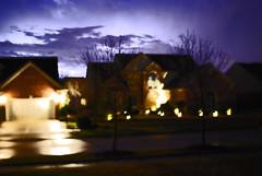 EXPERIMENTING WITH LIGHTNING (melodysr) Tags: sky nature night lightning burst dramaticsky