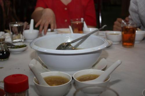 tofu + vege soup
