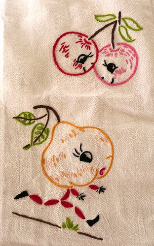 Fruit Embroidery