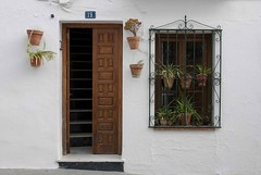 Typical Home Front in Mijas (arcoirisito) Tags: door white house plant home window plante spain andalucia porte costadelsol maison espagne fentre blanc mijas andalousie