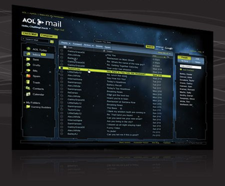AOL Mail in Microsoft Silverlight