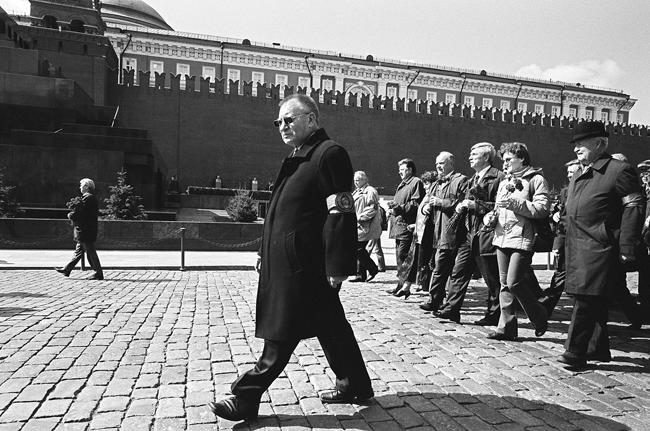 День рождение ЛЕНИНА. Москва 25/04/2008