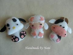 Turminha do Barulho (Nanistore) Tags: handmade felt feltro bichinhos lembrancinhas