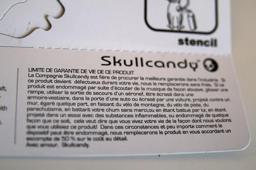 Garantie skullcandy