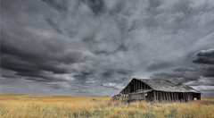 weathering the storm2 (sloppyshooter) Tags: storm abandoned homestead deserted sentinel derelect southernalberta