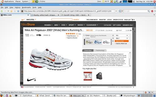 Nike Pegasus+ 2007 Side