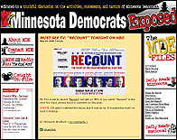 El blog Minnesota Democrats Exposed