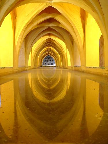 Alcazar de Sevilla Baños de Doña Maria de Padilla Arcos