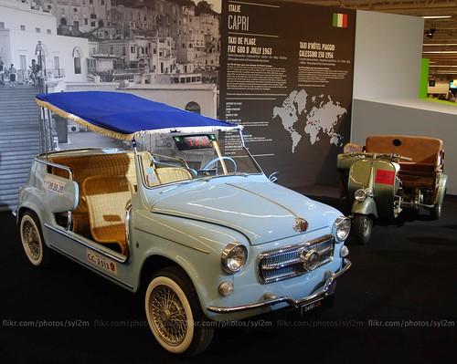 Taxi - FIAT 600 Jolly de plage 1963 - Capri