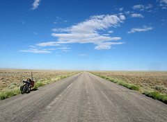 Mineral exploration road (1) - Wyoming