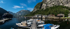 Geiranger harbour (Ha-Tschi) Tags: norway geiranger fjord harbour boat panorama pentax ks2 1855mm