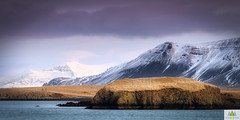 Esja (Elf-8) Tags: iceland reykjavik esja esjan mountain ridge volcanic snow winter