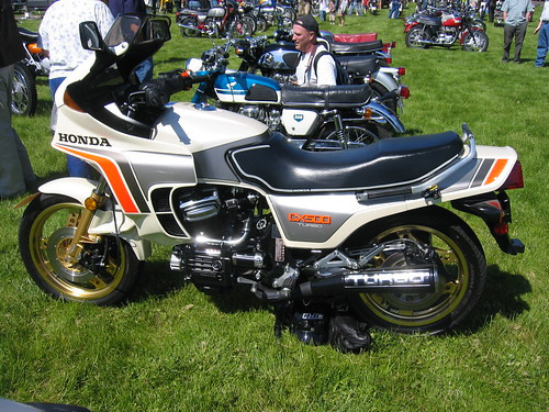 Honda CX500 Turbo OVM Vintage Motorcycle Show