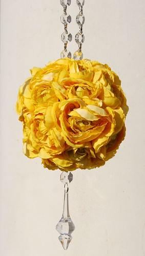 Yellow Ranunculus Flower Ball