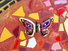 Butterflies Are Free (Happy_Peasant) Tags: mosaic lakeshoredrive lincolnpark brynmawravenueunderpass