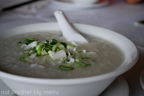 Yi Ban, Royal Docks - Pork congee