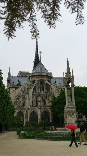 Rear View of Notre Dame