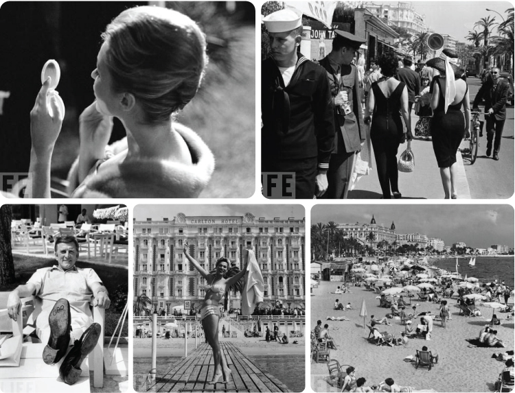Vintage Cannes Photos from Life Magazine