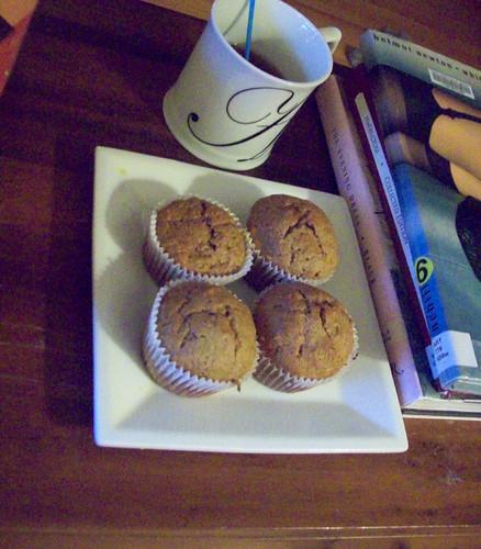 Banana Walnut Muffins, June 11th 2011 by bohemea