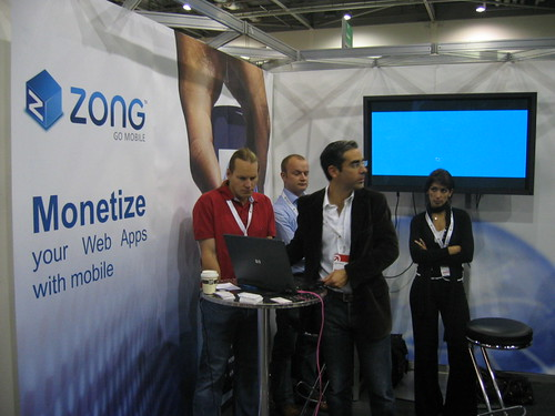 Zong Booth @ FOWA