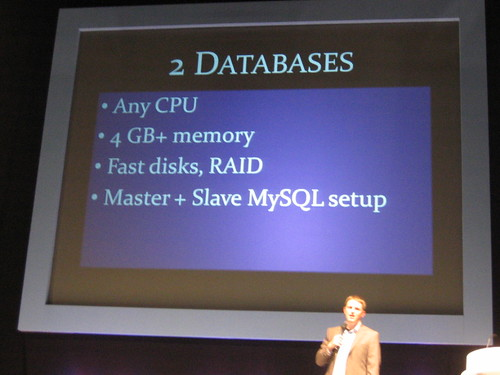 Databases of WordPress.com