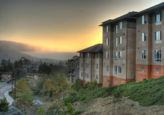 Cerro Vista Sunset Warm (Trevor James Ingraham) Tags: sunset slo hdr calpoly cerrovista