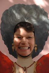 Caroline as Evita