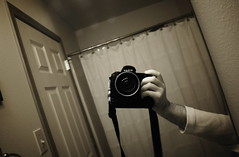 me, myself, and I (bellyface) Tags: bw selfportrait me self ir mirror nikon ivan infrared 18mm d1h 18mmf28d d1hir nikkor18mm