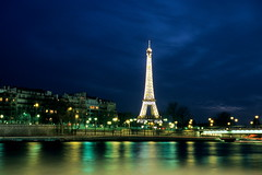 Paris / Eiffel Tower (calvin89) Tags: travel blue paris france scenery europe honeymoon eiffeltower reflexions      supershot  golddragon abigfave platinumphoto anawesomeshot aplusphoto flickrenvy theunforgettablepictures theperfectphotographer goldstaraward rubyphotographer flickrlovers