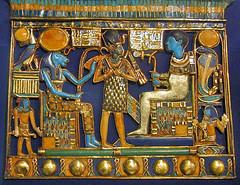 Bijou de la tombe de Toutânkhamon (musée du Caire / Egypte) (dalbera) Tags: carter sekhmet egypte pharaon ptah lecaire toutankhamon dalbera thèbes muséeducaire