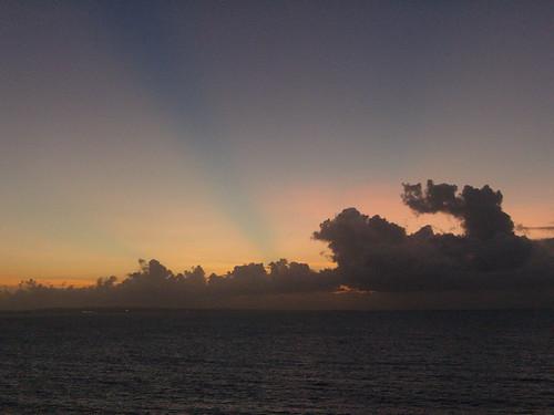 Crepuscular Sunrise 1