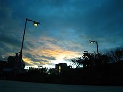 宇治川旁景色