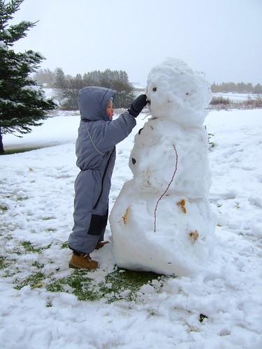 Leo's Snowman