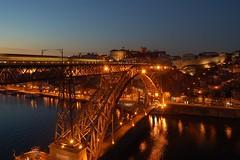O Douro e o Porto  noite (anacm.silva) Tags: portugal porto