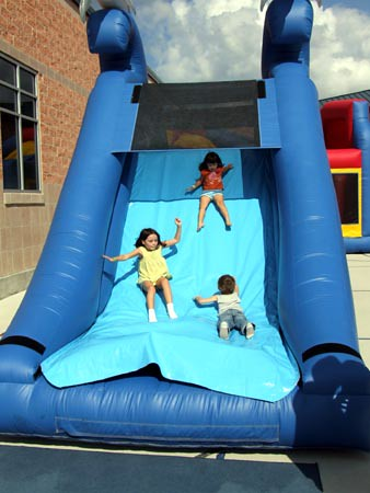 Big Bouncey Slide